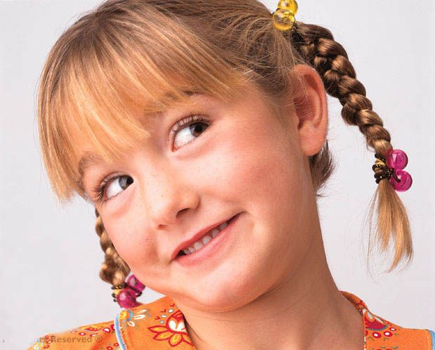 Lovely hairstyles for young girls
