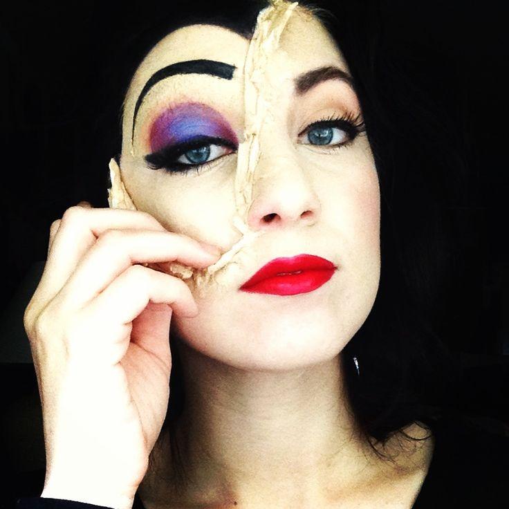 evil queen makeup - 736×736
