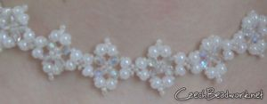 Beaded Pearl Necklace Tutorial