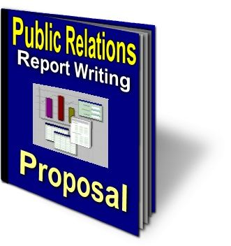 Public Relations types report writing