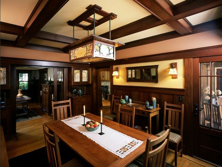 Dining Room Craftsman Style Pinterest