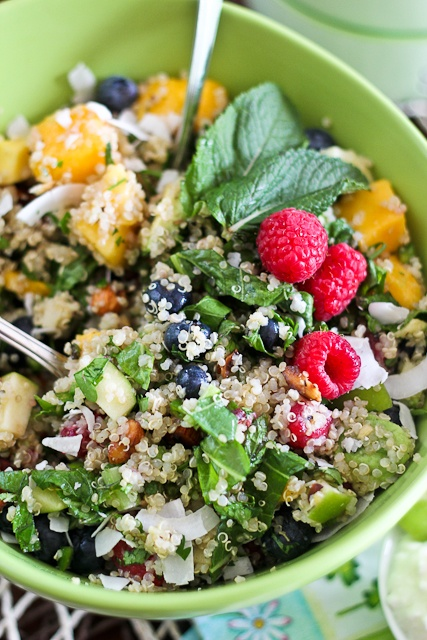 Breakfast Quinoa Salad Breast Cancer: Reducing Our Risk # ...