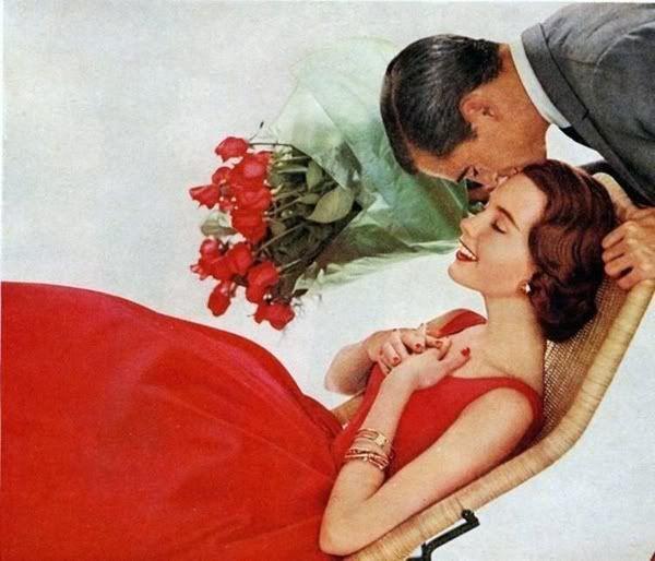 valentine romantic kiss