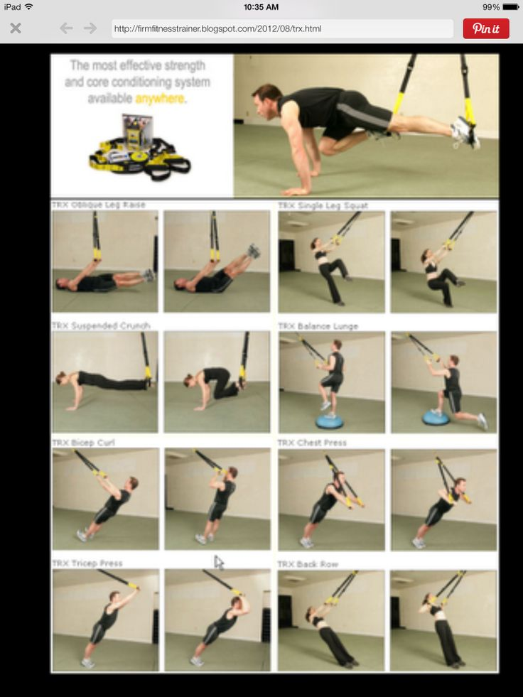 TRX workout | Forever Fit