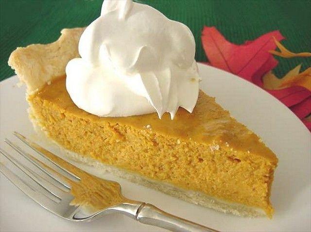 easy pumpkin pie recipe | Food~Pies | Pinterest