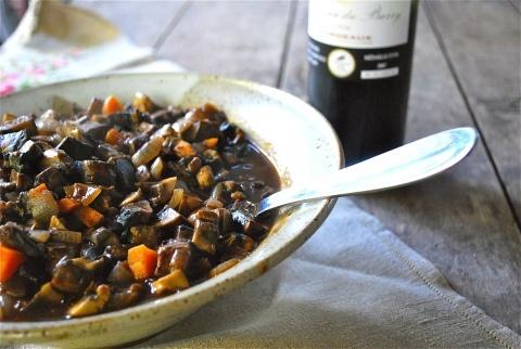 winter portobello mushroom stew | Soups and Stews | Pinterest