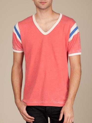Men's Short Sleeve | Pro Mark V-Neck Tee | Alternative Apparel