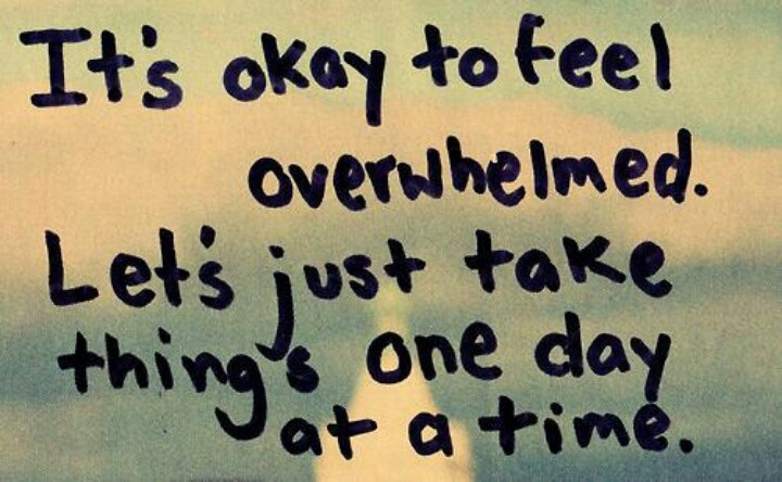 overwhelmed quotes pinterest