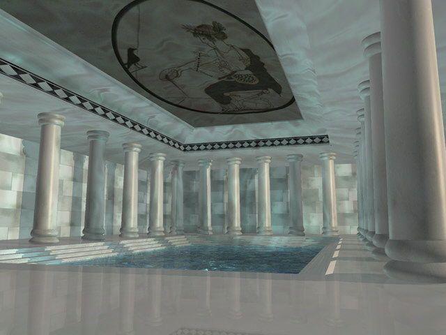 Ancient greek bathrooms