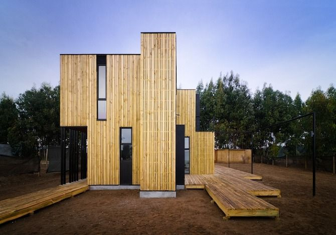 SIP Panel House by Alejandro Soffia + Gabriel Rudolphy in THISISPAPER MAGAZINE