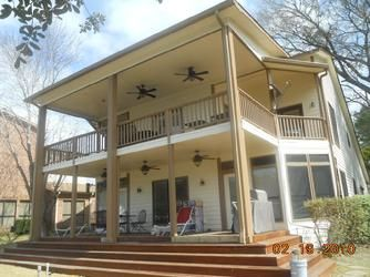 Pin by affordable shade patio covers on custom patio covers pintere - Two story house plans with covered patios ...