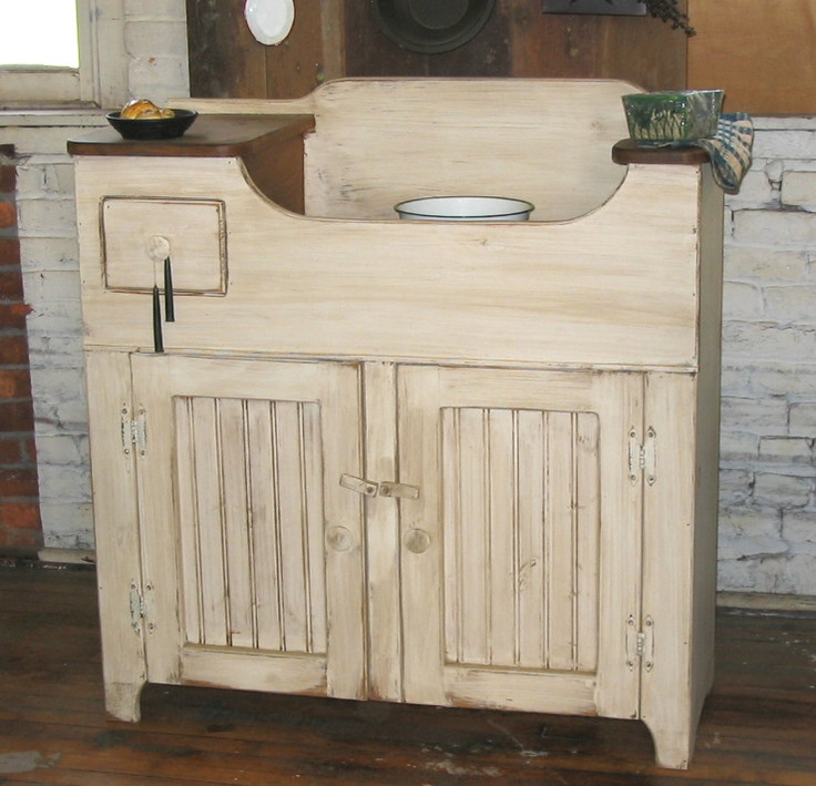 dry sink just cupboards Pinterest
