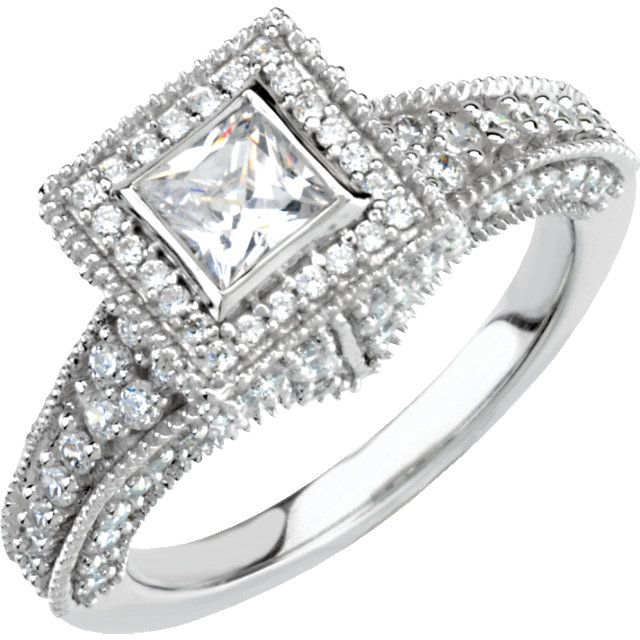 Princess Cut Diamond Engagement Ring Available at Westmount Jewellers ...