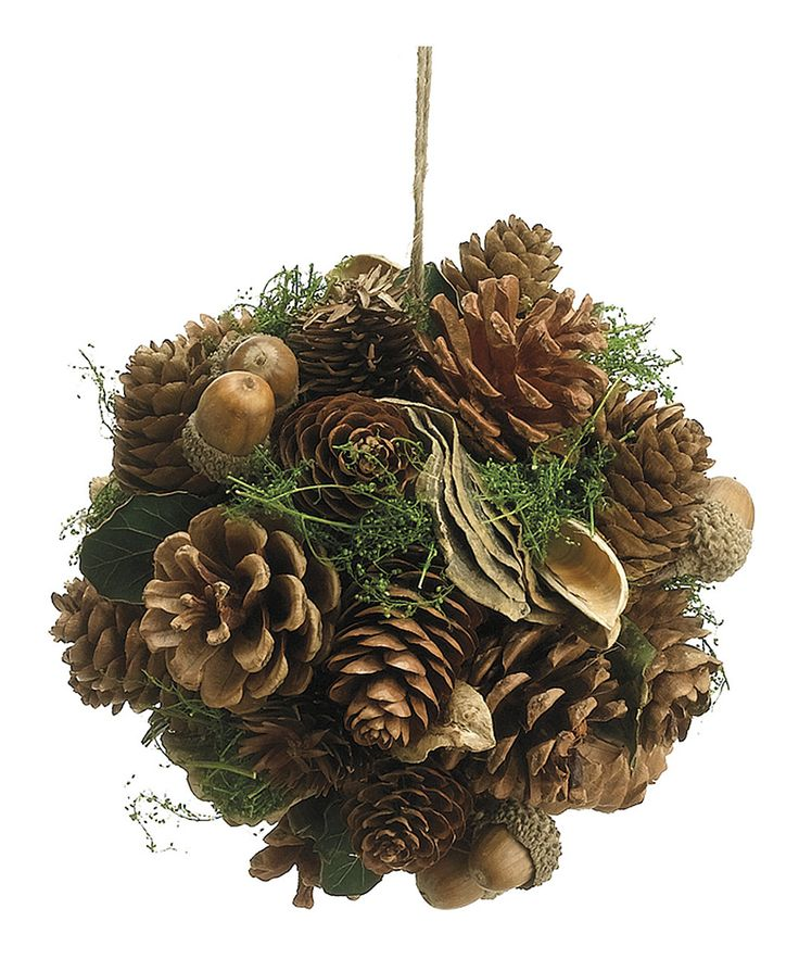 Pinecone Ornament Craft Ideas