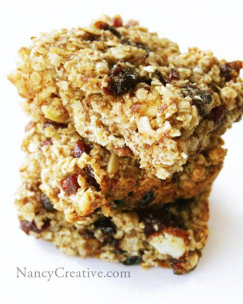 Chewy Granola Bars | Granola Bars/Snacks | Pinterest