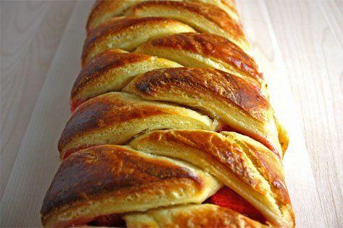 Braided Strawberry Cheese Bread Recipes — Dishmaps