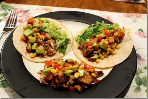 Tilapia tacos with roasted corn relish! | Favorite Recipes | Pinterest
