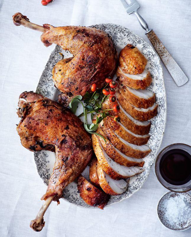 Suzanne Goin's Brined Roast Turkey Breast. #food #turkey #Thanksgiving ...