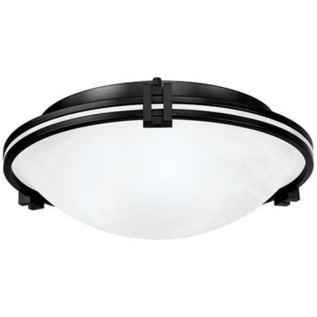 "Possini Euro Design Bronze 16 3/4"" Wide LED Ceiling Light -"