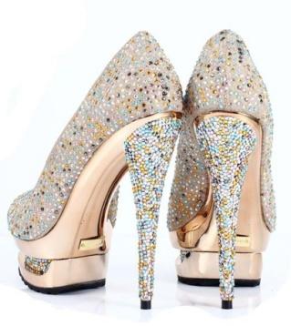 CHIQ | Crystal Banquet shoescrystal banquet shoes