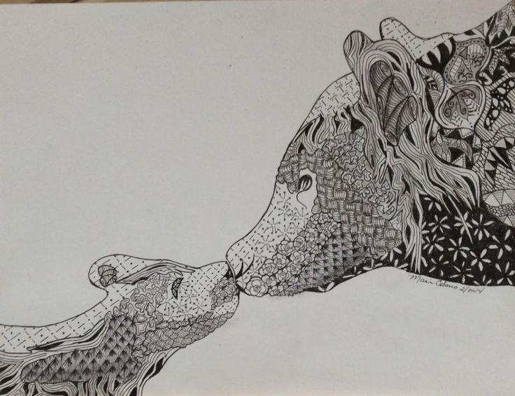 Celanos Doodles Zentangle Bear  Tattoo Inspiration Pinterest