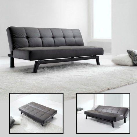 Faux leather sofa bed Furniture Sofa Bed