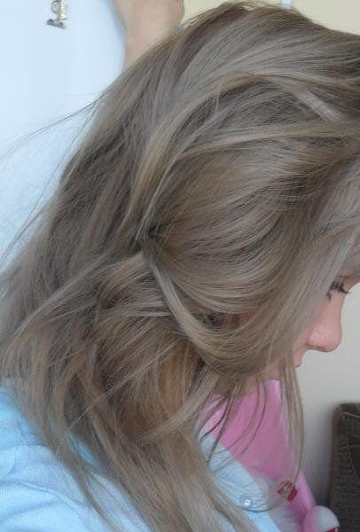 Пепельно светло русый блонд цвет волос