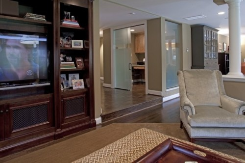 Warm And Inviting Family Room Case Home Interiors Pinterest