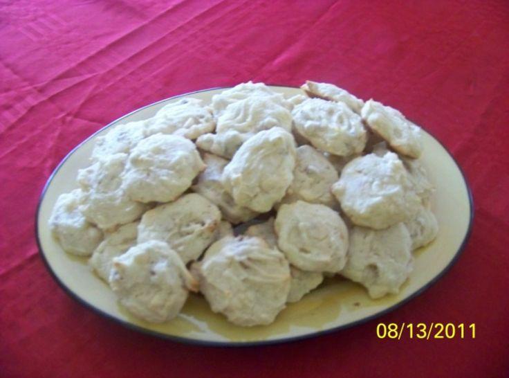 Walnut White Chocolate Cream Cheese Cookie