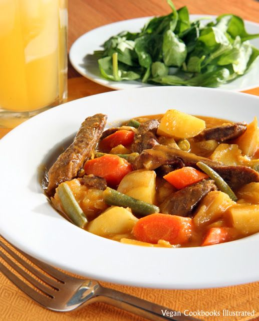 Vegetarian Irish Stew With Sweet Potatoes And Tempeh Recipes ...