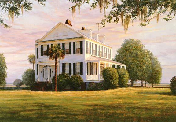 Southern plantation home styles southern pinterest for Southern plantation house