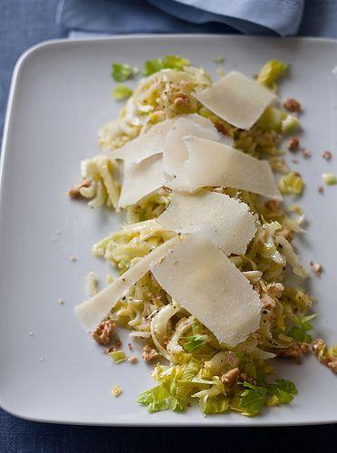 ina garten's celery and parmesan salad | Celery! | Pinterest