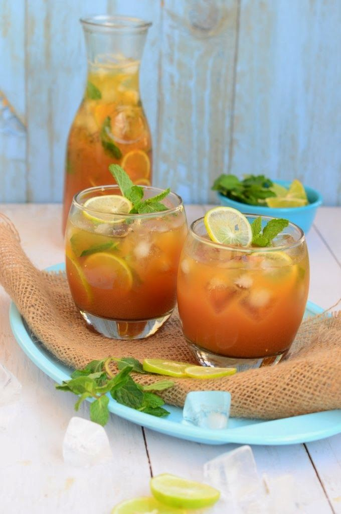 Passion Fruit Iced Tea | Beverages! | Pinterest