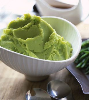 Chive and Parsley Mashed Potatoes. Mashed potatoes almost any way are ...