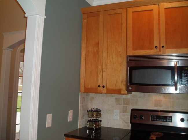 Sherwin williams oyster bay 6206 paint colors pinterest - Kitchen cabinets southwest ...
