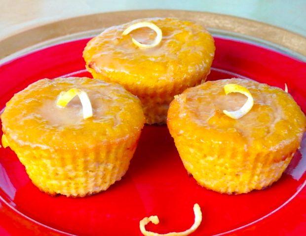 Glazed Lemon Muffins | Get in muh belly | Pinterest