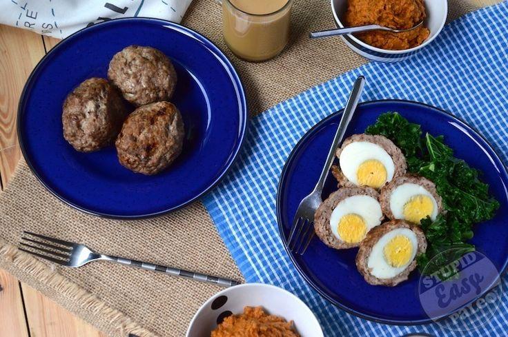 Paleo Breakfast Sausage Scotch Eggs