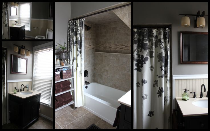 I Love My Grey And Brown Bathroom Home Favs Pinterest