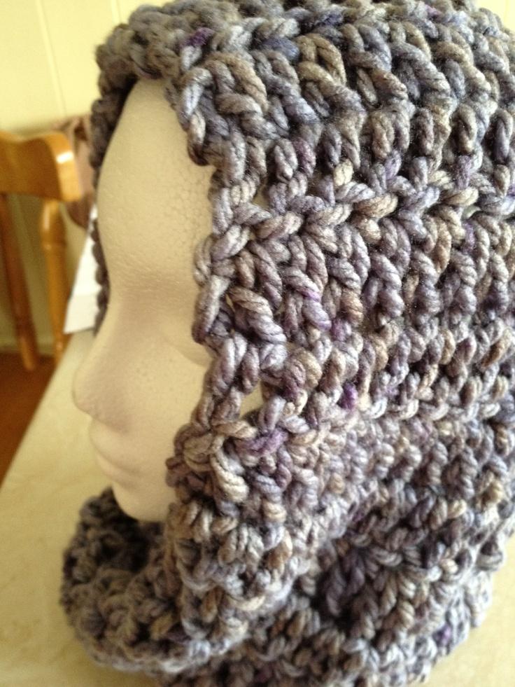 Crochet Snood : Crochet snood Hats, scalves, booties Pinterest