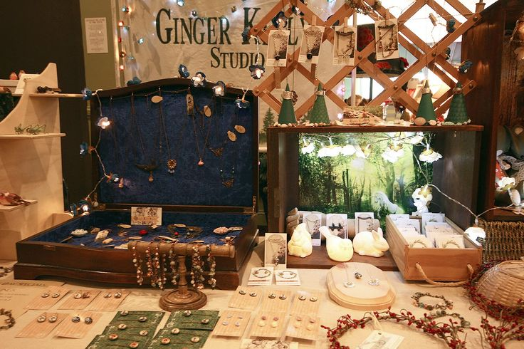 Ginger Kelly Studio Market Stall