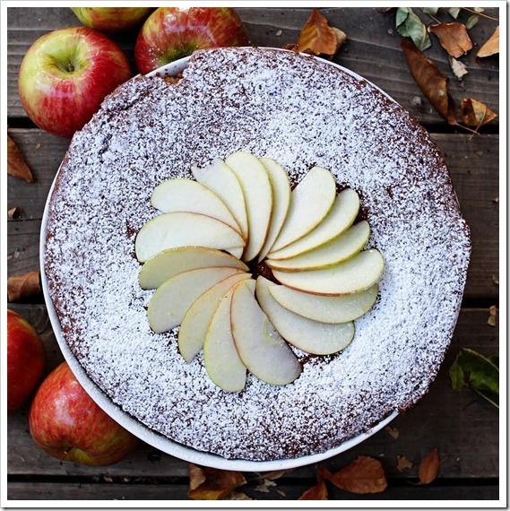 Applesauce Spice Cake.