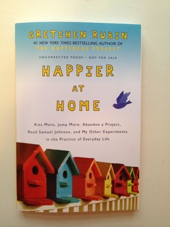 The galleys of Happier at Home.