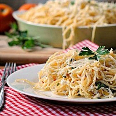 Baked Lemon Pasta | Veggie treats | Pinterest