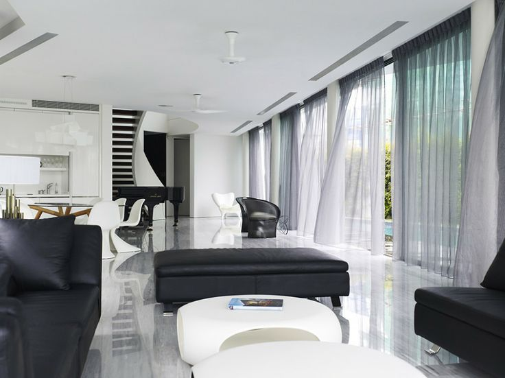 Interior Monochrome Luxury House My Next Home Pinterest