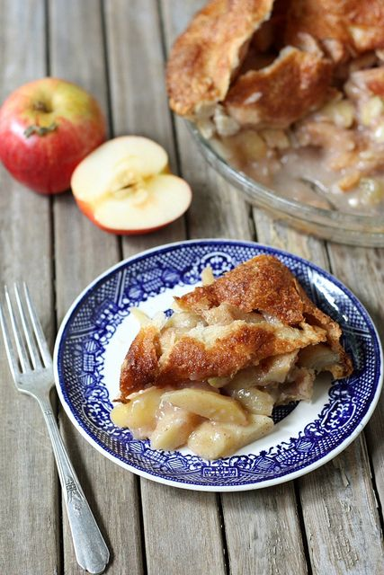 Mile High Apple Pie from @Annalise (Completely Delicious)