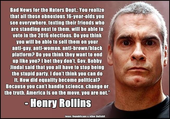 Henry Rollins Quotation Pinterest