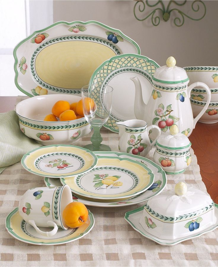 villeroy boch dinnerware french garden dinner plate. Black Bedroom Furniture Sets. Home Design Ideas