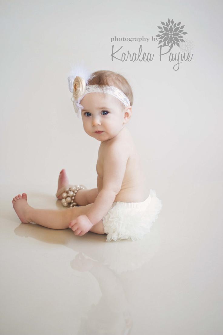 Graceful Baby Headband,Baptism,Christening feather Headband-Vintage ...: www.pinterest.com/pin/59320920064397878