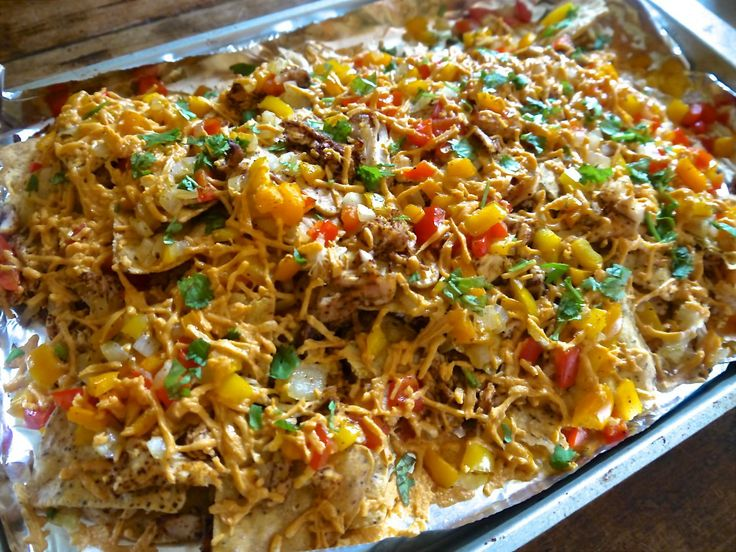Loaded Veggie Nachos With Portabella Mushroom Meat Recipe ...