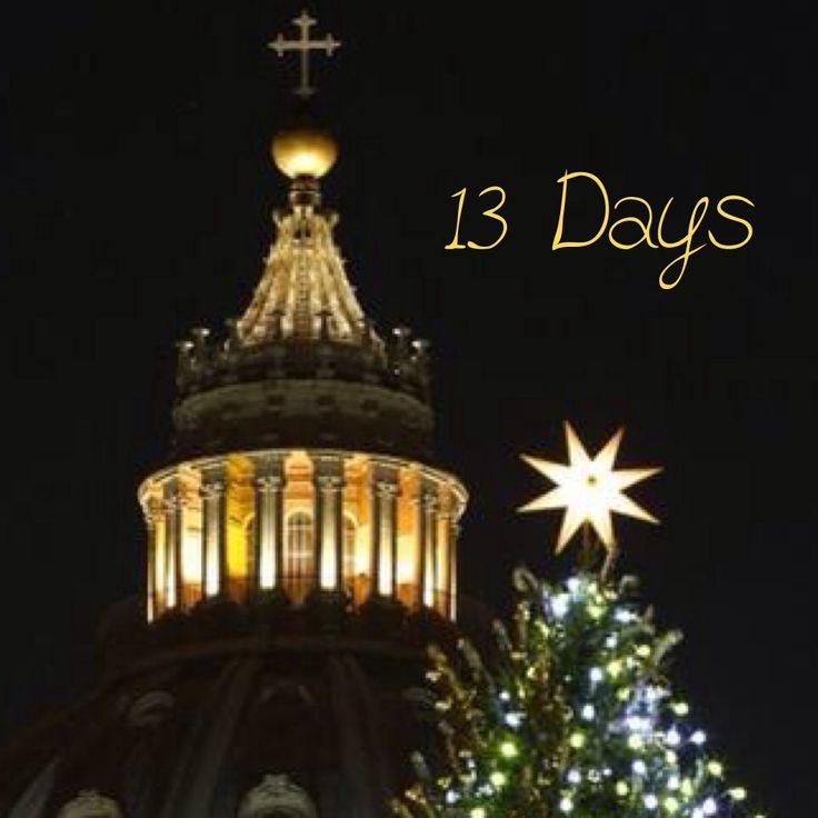 13 Days Until Christmas | Christmas Countdown 2013 | Pinterest